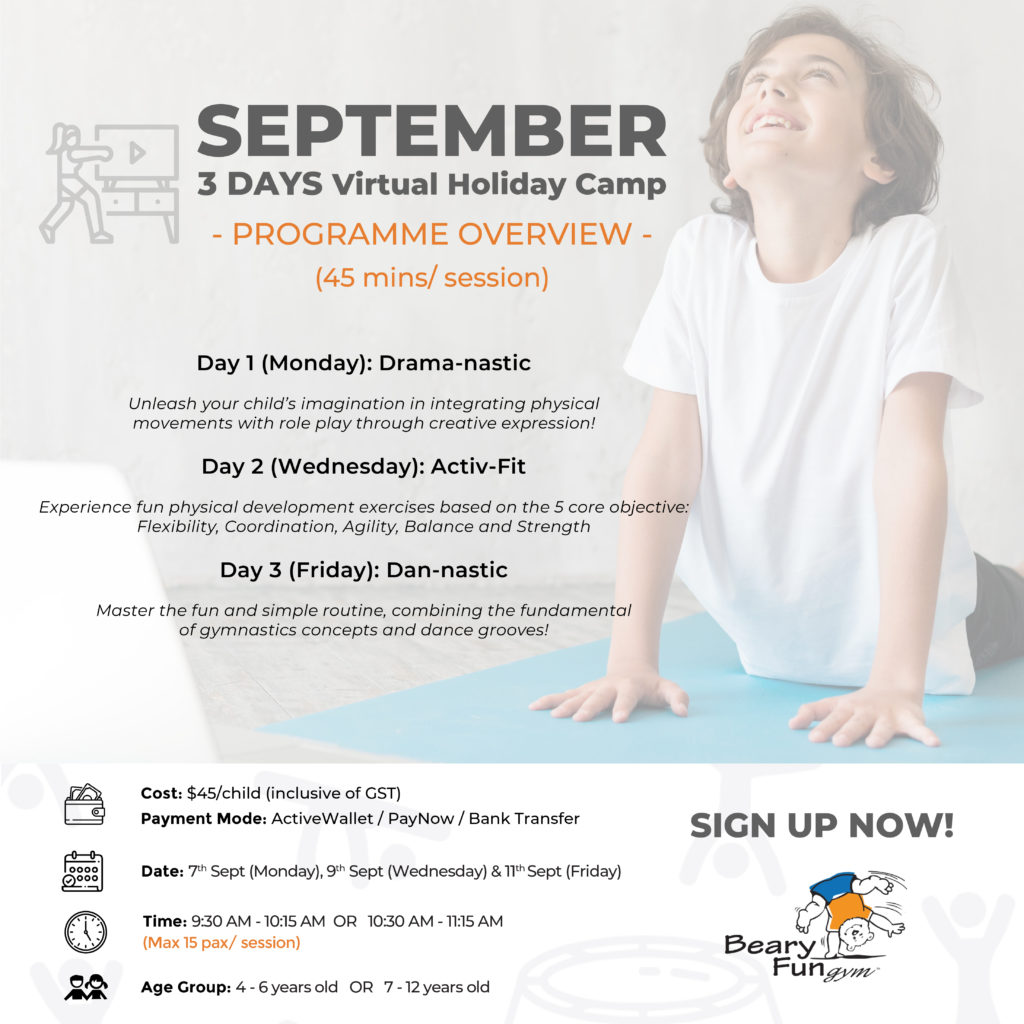 September holiday camp